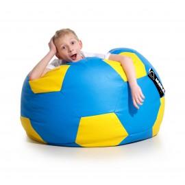 Pufa piłka Kick niebiesko-żółta Jabba