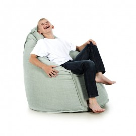 pufa worek miętowa zielona welur pufa dla dzieci fotel pufa do siedzenia pufy sako jabba roome