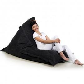 pufa worek czarna bawełna pufa leżak jeans loft design pufa do siedzenia pufy sako styl skandynawski jabba grand
