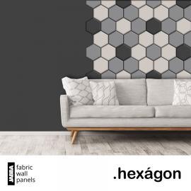 Panele tapicerowane Hexagon