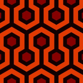 Tkanina dekoracyjna Shining pomarańczowa Jabba Design