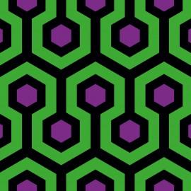 Tkanina dekoracyjna Shining zielona Jabba Design