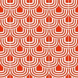 Tkanina dekoracyjna Wave retro - Jabba Design