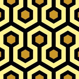 Tkanina Tkanina dekoracyjna Shining złota Jabba Design