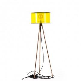 Lampa stojąca Tripod Clear żółta Jabba Design