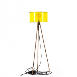 Lampa podłogowa Tripod Clear