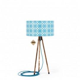 Lampa stołowa Tripod Geometric